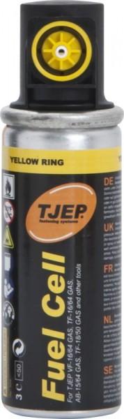 TJEP Gaskartusche, 78mm, gelber Ring